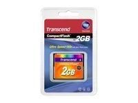 Transcend - Flash-Speicherkarte - 2 GB - 133x - CompactFlash