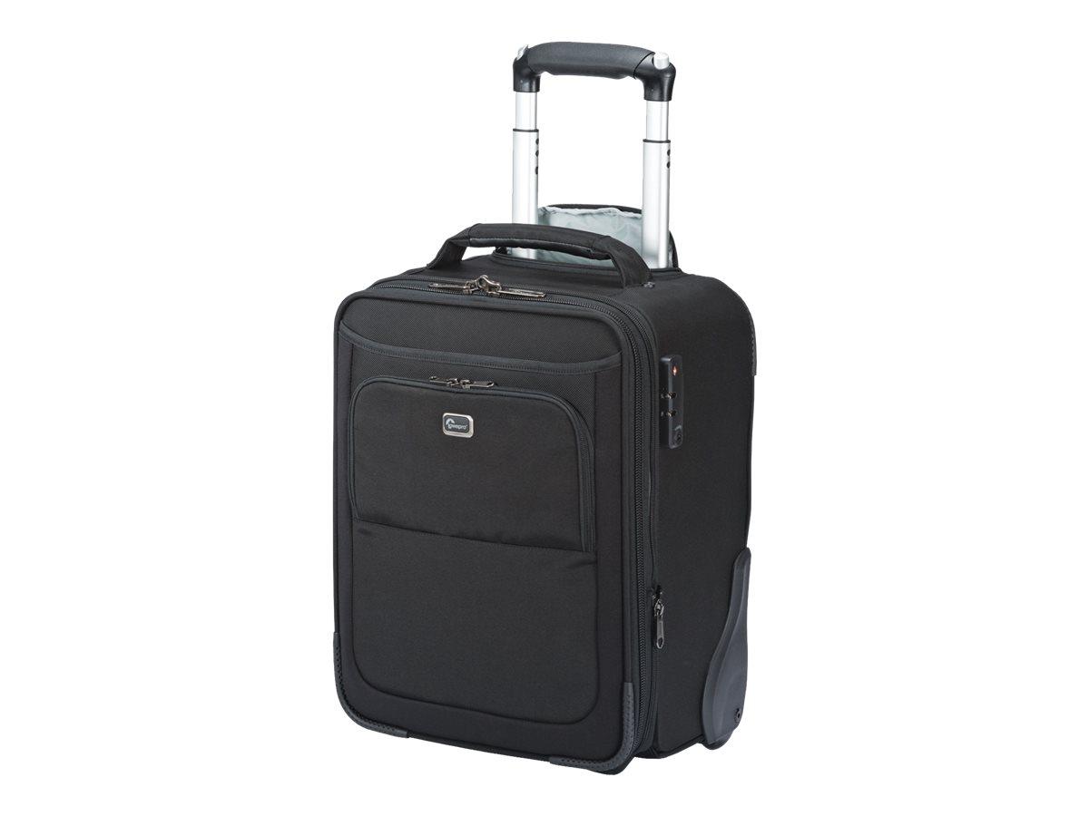 Lowepro Pro Roller x-Series x100 AW - Koffer mit Rollen für Kamera mit Objektiven und Notebook - Ballistisches Nylon - Schwarz