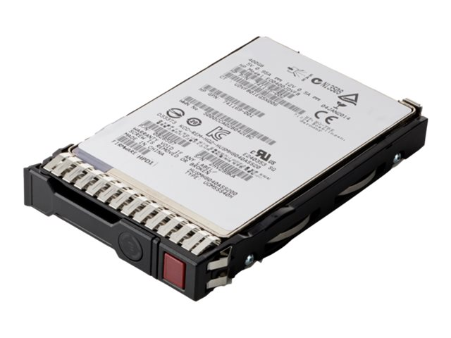 HPE Write Intensive - Solid-State-Disk - 400 GB - Hot-Swap - 2.5