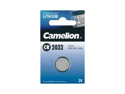 Camelion Premium Lithium - Batterie CR2032 Li
