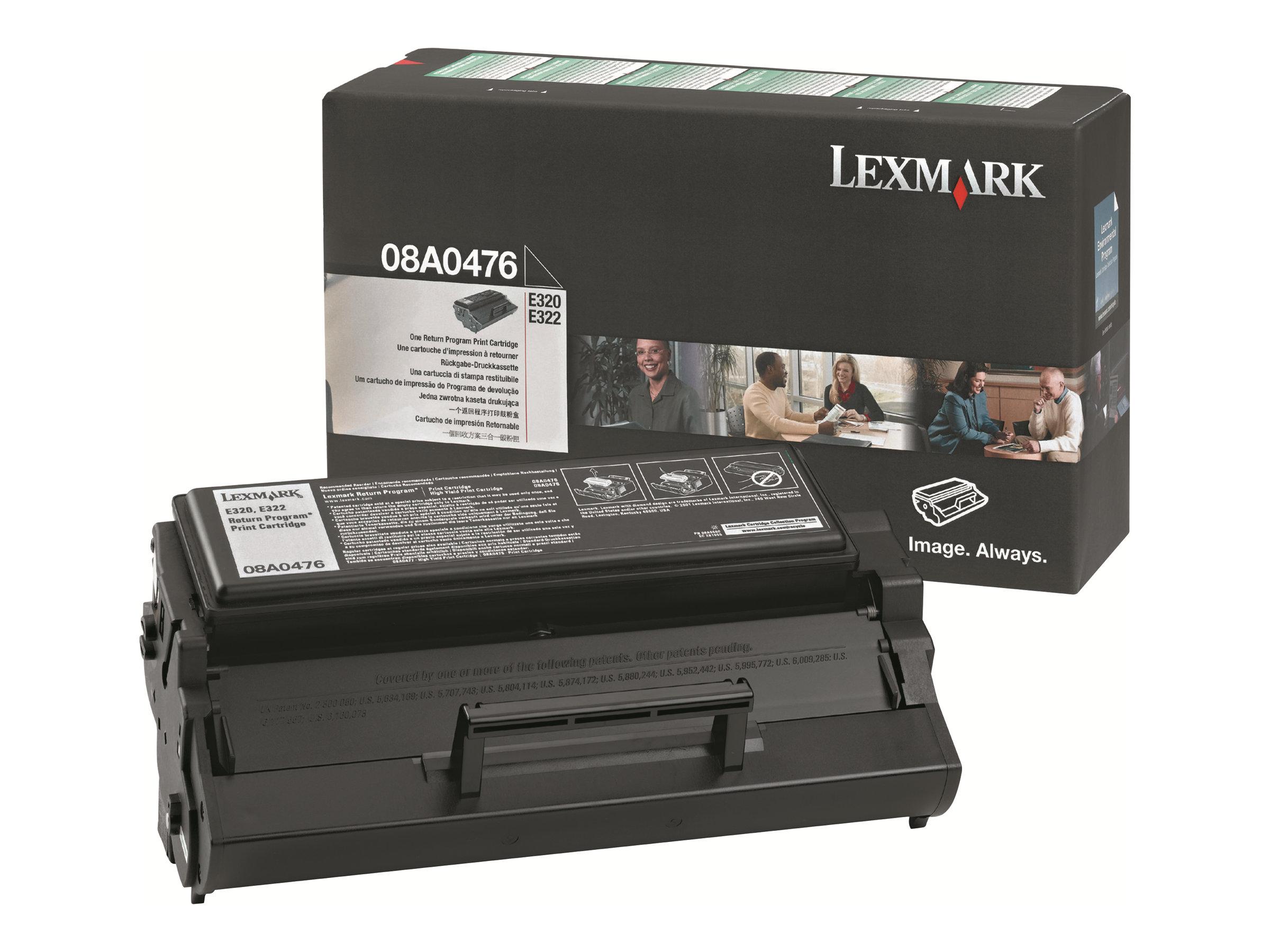 Lexmark - Schwarz - Original - Tonerpatrone LRP - für E320, 322, 322n, 322tn