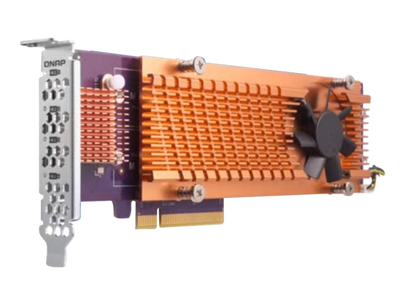 QNAP QM2-4P-342 - Speicher-Controller - PCIe 3.0 Low-Profile - PCIe 3.0 x4