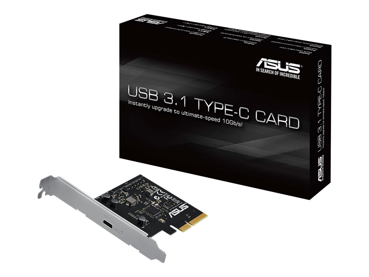 ASUS USB 3.1 TYPE-C CARD - USB-Adapter - PCIe x4 - USB-C