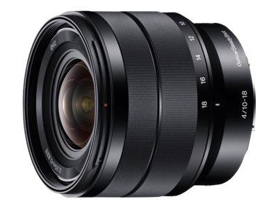 Sony SEL1018 - Weitwinkel-Zoom-Objektiv - 10 mm - 18 mm - f/4.0 OSS - Sony E-mount