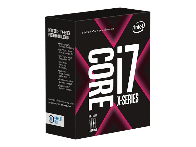 Intel Core i7 7740X X-series - 4.3 GHz - 4 Kerne - 8 Threads - 8 MB Cache-Speicher - LGA2066 Socket