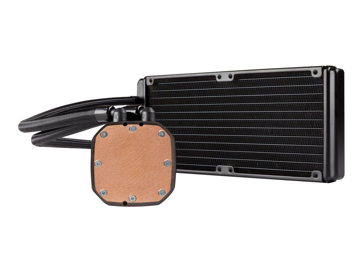 CORSAIR Hydro Series H100x High Performance Liquid CPU Cooler - Prozessor-Flüssigkeitskühlsystem - (für: LGA1156, AM2, AM3, LGA1