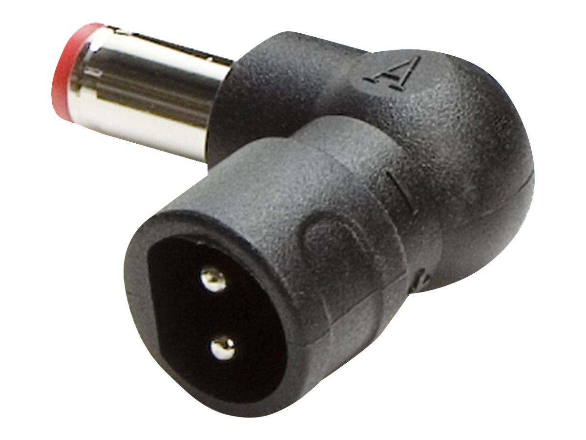 Targus PowerTip A - Netzanschluss - Schwarz (Packung mit 25)