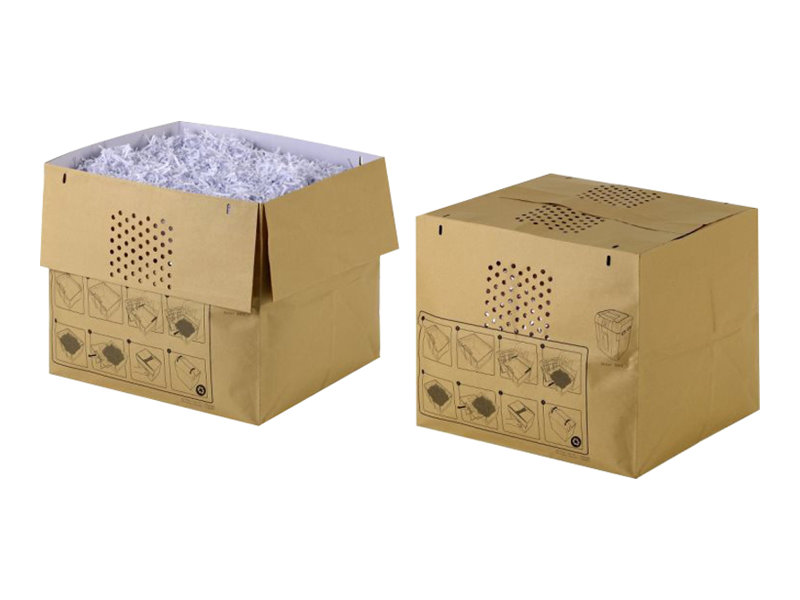Rexel Recyclable Shredder Waste Sacks 115L - Müllbeutel - beige (Packung mit 50)