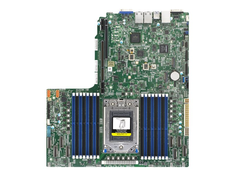 SUPERMICRO H12SSW-iNR - Motherboard - Socket SP3 - USB 3.0 - 2 x Gigabit LAN - Onboard-Grafik