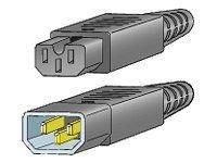 Cisco Jumper - Stromkabel - IEC 60320 C15 bis IEC 60320 C14 - 69 cm - für Catalyst 9200L; MDS 9020, 9120, 9140, 9216, 9216A, 921