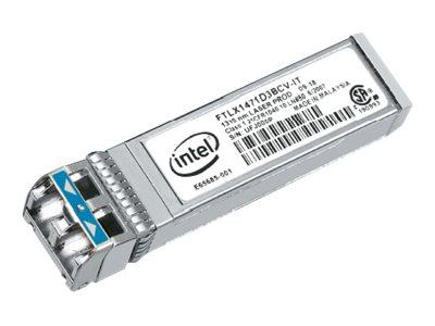 Intel Ethernet SFP+ LR Optics - SFP+-Transceiver-Modul - 10 GigE - 1000Base-LX, 10GBase-LR - LC Single-Modus - bis zu 10 km