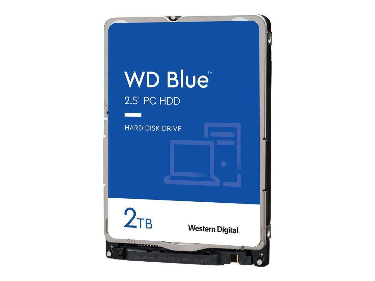 WD Blue WD20SPZX - Festplatte - 2 TB - intern - 2.5