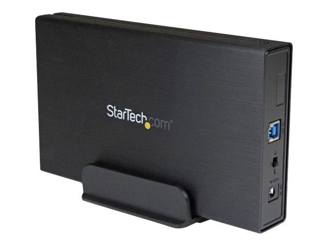 StarTech.com USB 3.1 (10 Gbit/s) Festplattengehäuse für 3,5 SATA Laufwerke - Ultra-fast USB 3.1 HDD Gehäuse für bis zu 6TB - Spe