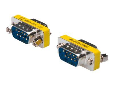 DIGITUS - Serieller Gender Changer - DB-9 (M) bis DB-9 (M)