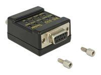 DeLOCK RS-232 Tester DB9 female > DB9 male - Netzwerktester
