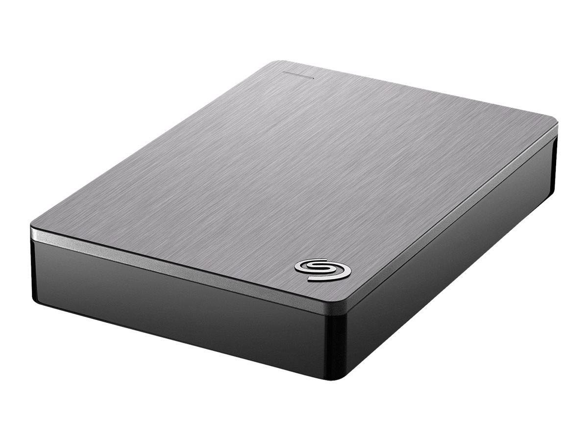Seagate Backup Plus STDR5000201 - Festplatte - 5 TB - extern (tragbar) - USB 3.0 - Silber