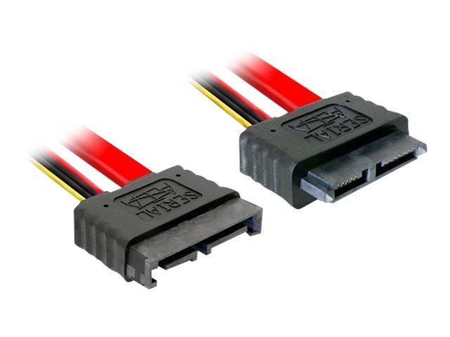 DeLOCK - SATA-Verlängerungskabel - Serial ATA 150/300/600 - Slimline SATA (M) bis Slimline SATA (W) - 50 cm