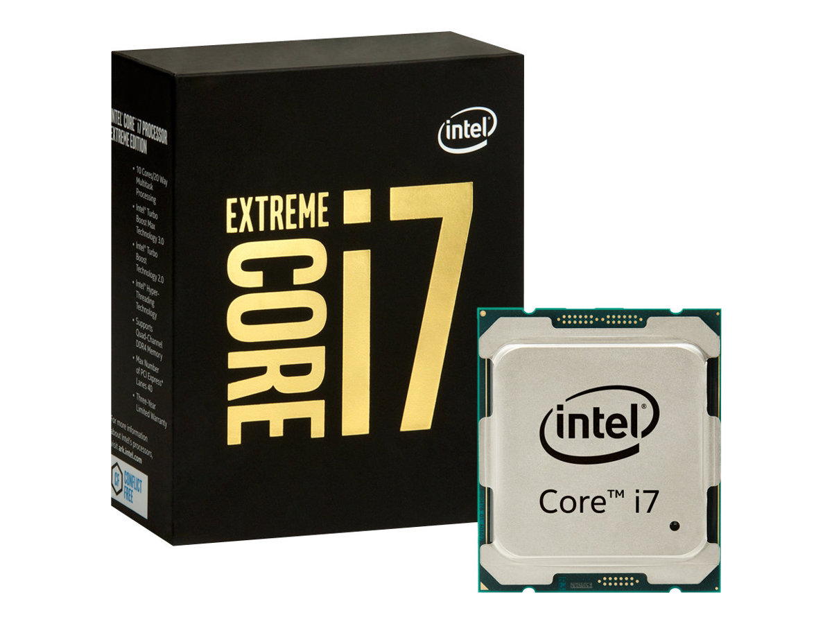 Intel Core i7 Extreme Edition 6950X - 3 GHz - 10 Kerne - 20 Threads - 25 MB Cache-Speicher - LGA2011-v3 Socket