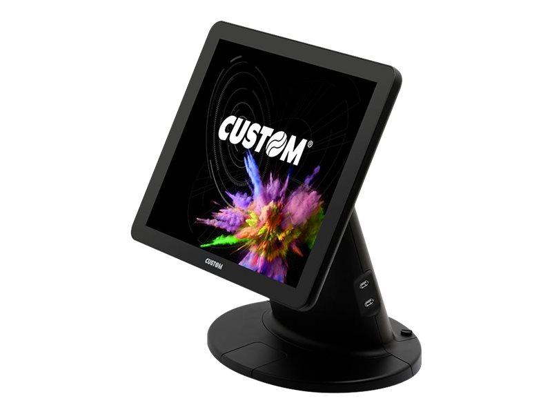 Custom PCPOS TWENTYFIVE - All-in-One (Komplettlösung) - 1 x Core i5 - RAM 4 GB - SSD 64 GB - Monitor: LCD 43.2 cm (17
