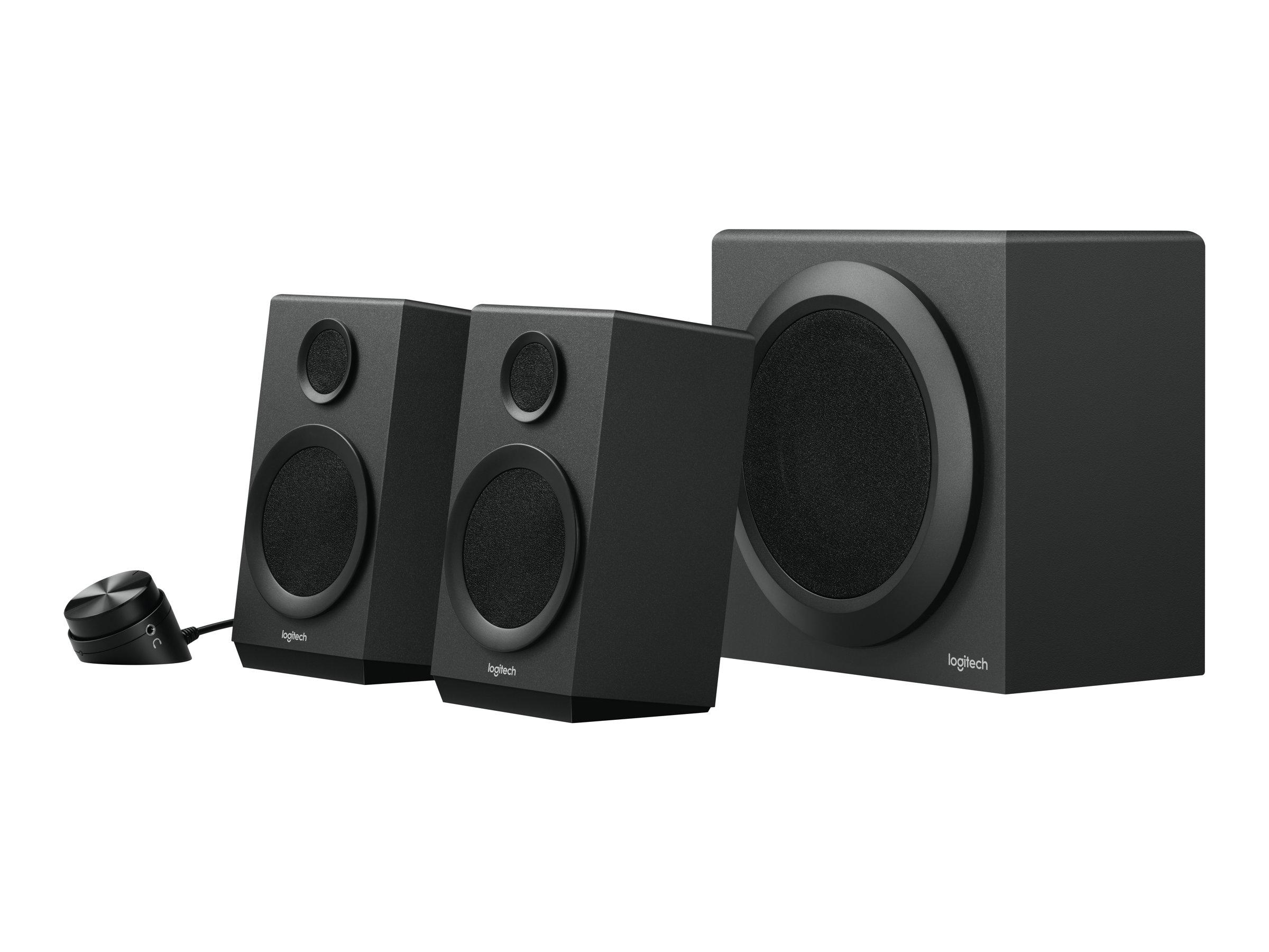 Logitech Z333 - Lautsprechersystem - für PC - 2.1-Kanal - 40 Watt (Gesamt)
