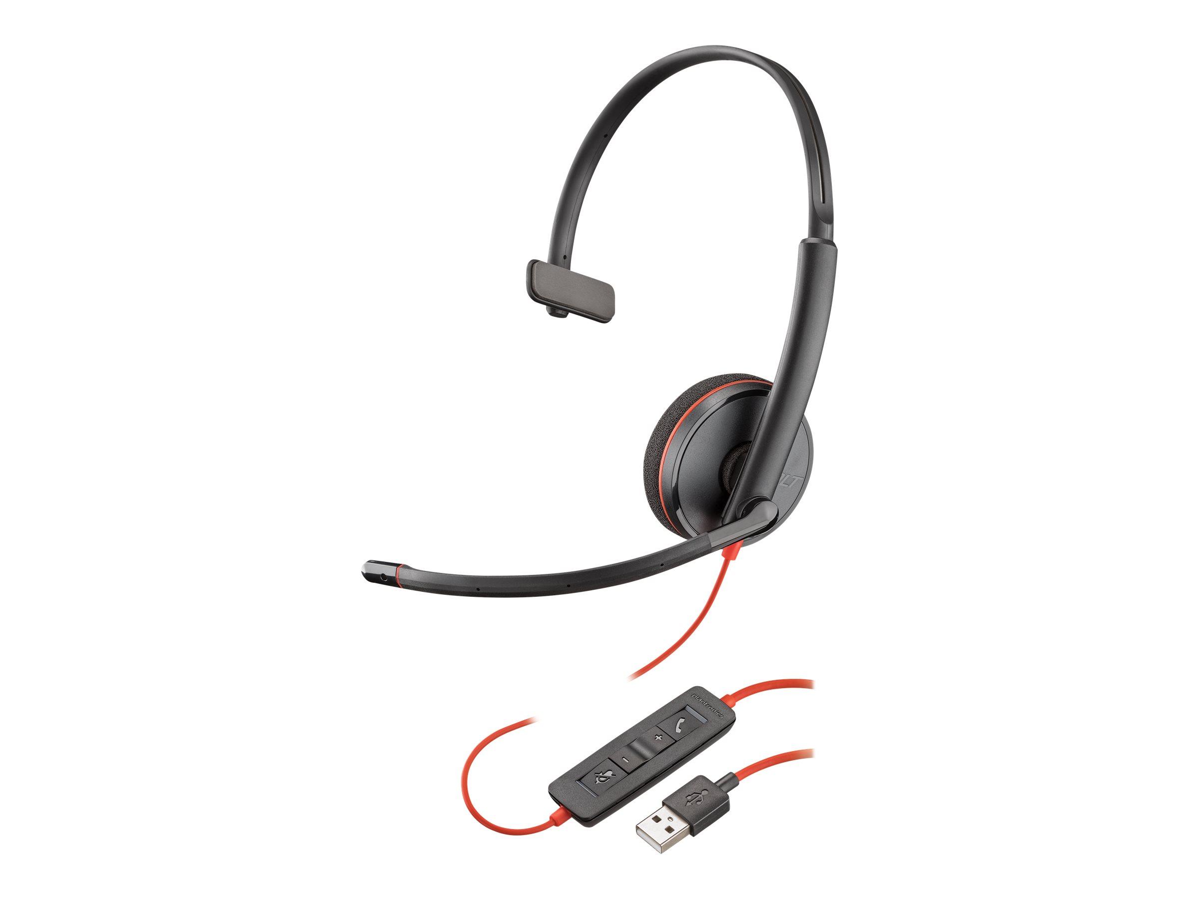 Plantronics Blackwire C3210 USB-A - 3200 Series - Headset - On-Ear - kabelgebunden - USB