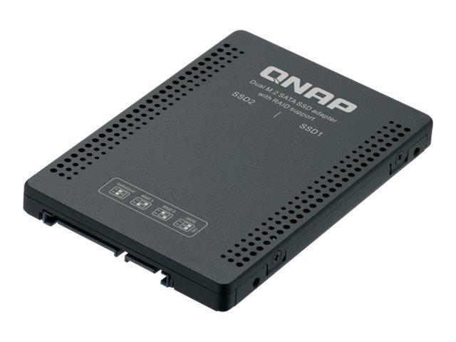QNAP QDA-A2MAR - Internes RAID-Gehäuse - 2.5