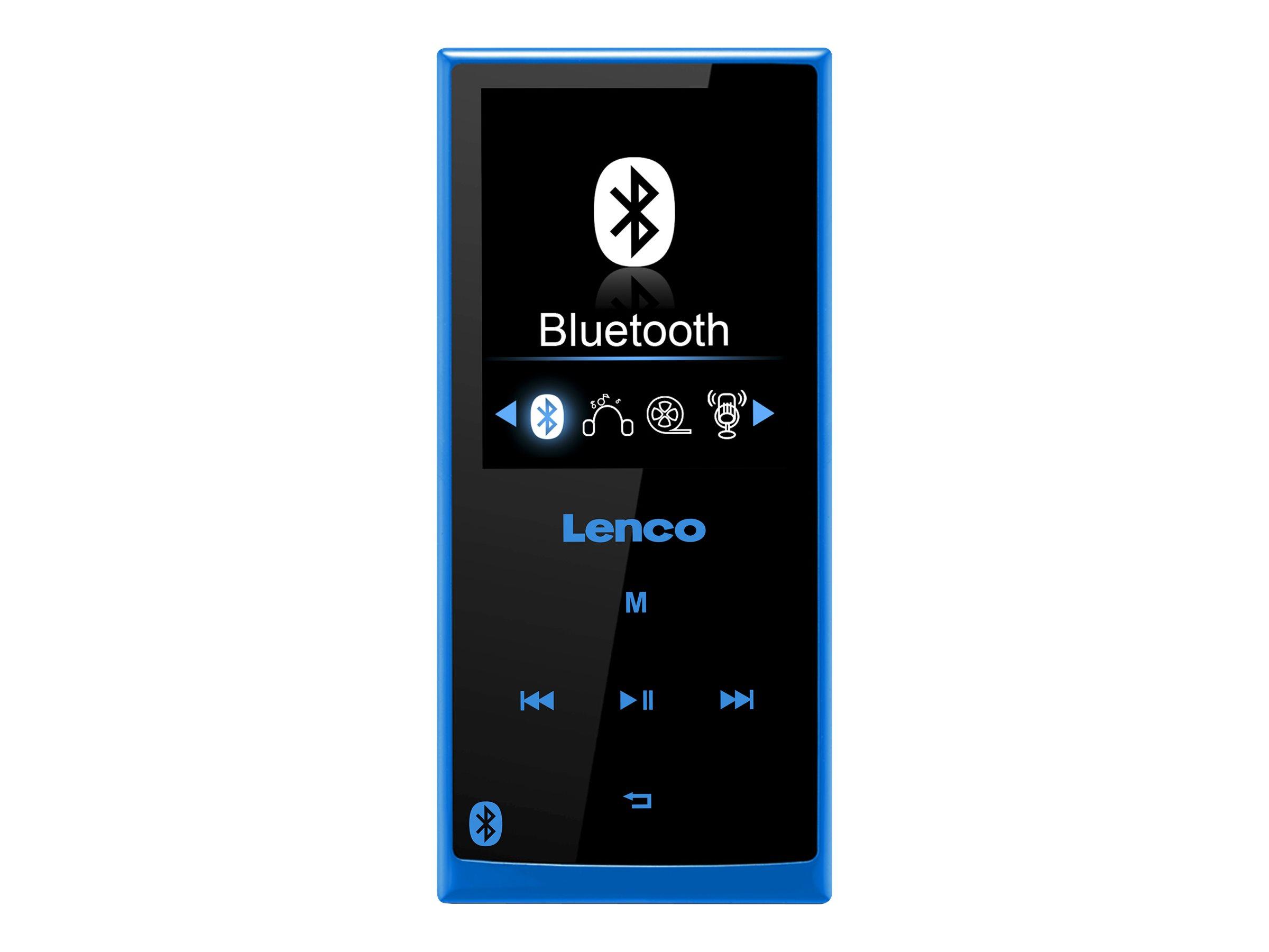 Lenco XEMIO-760 BT - Digital Player - 8 GB - Blau
