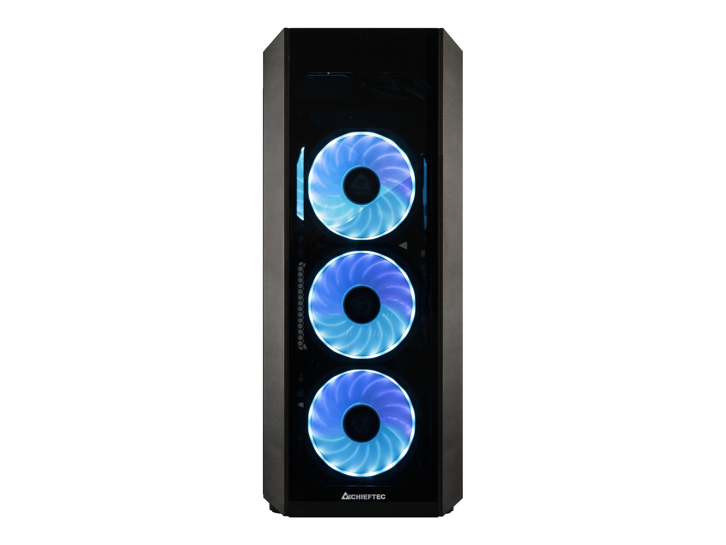 Chieftec Gamer Series SCORPION 3 - Tower - ATX - ohne Netzteil (ATX) - Schwarz - USB/Audio