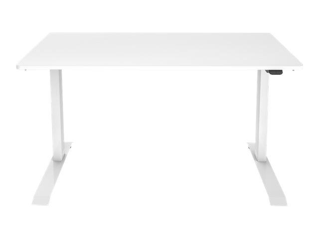 DIGITUS - Schreibtisch - rechteckig - weiss