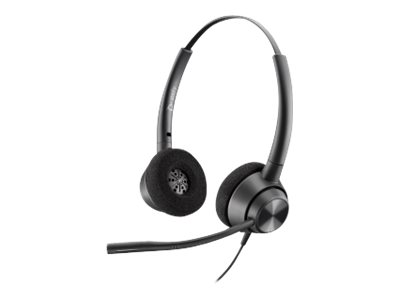 Poly EncorePro 320, QD - 300 Series - Headset - On-Ear - kabelgebunden - Quick Disconnect