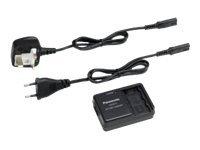 Panasonic VW-BC10E-K - Batterieladegerät - für VW-VBK180, VBK180E-K, VBK360, VBK360E-K