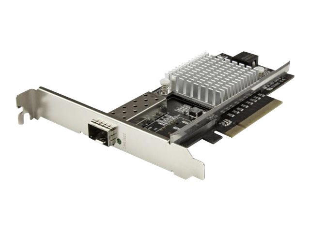 StarTech.com 1 Port 10G Open SFP+ Netzwerkkarte - PCIe - Intel Chip - MM/SM - PCI Express 10G NIC mit Open SFP+ - 10G Ethernet K
