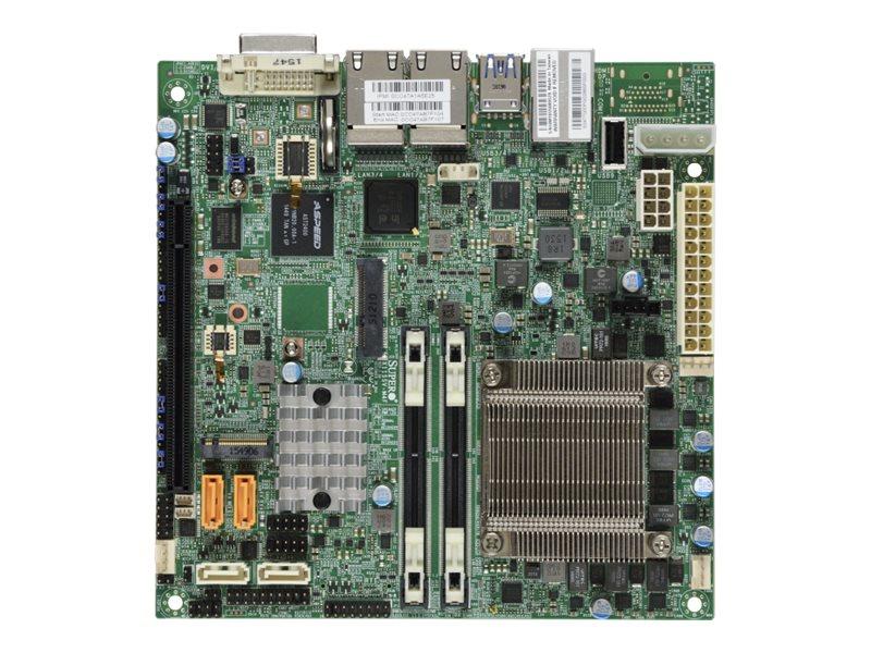 SUPERMICRO X11SSV-M4F - Motherboard - Mini-ITX - Intel Xeon E3-1585V5 - C236 - USB 3.0