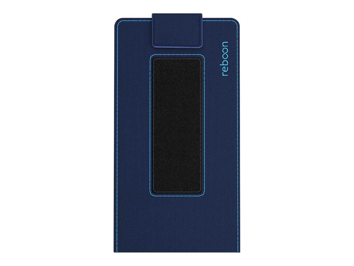 reboon boonflip XS4 - Flip-Hülle für Mobiltelefon - Polyurethan - Blau