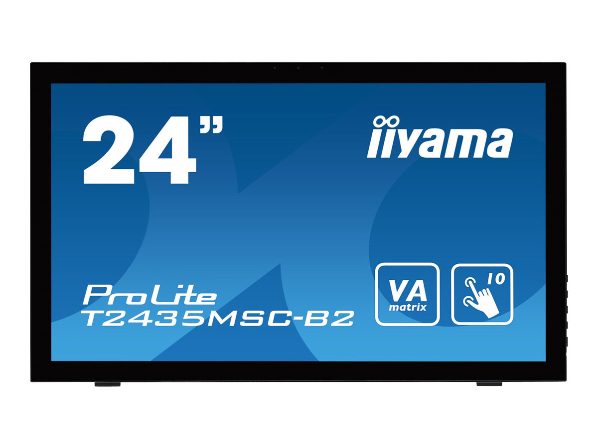 iiyama ProLite T2435MSC-B2 - LED-Monitor - 61 cm (24