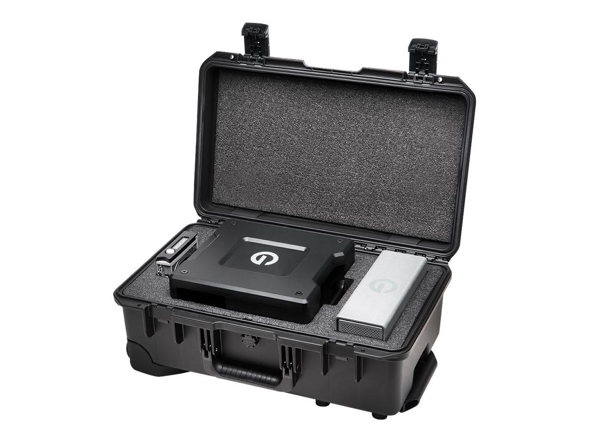 G-Technology G-SPEED Shuttle XL Pelican Storm iM2500 GSPSCIM2500EVAW - Hartschalentasche for portable HDD / SSD / bay adapter -