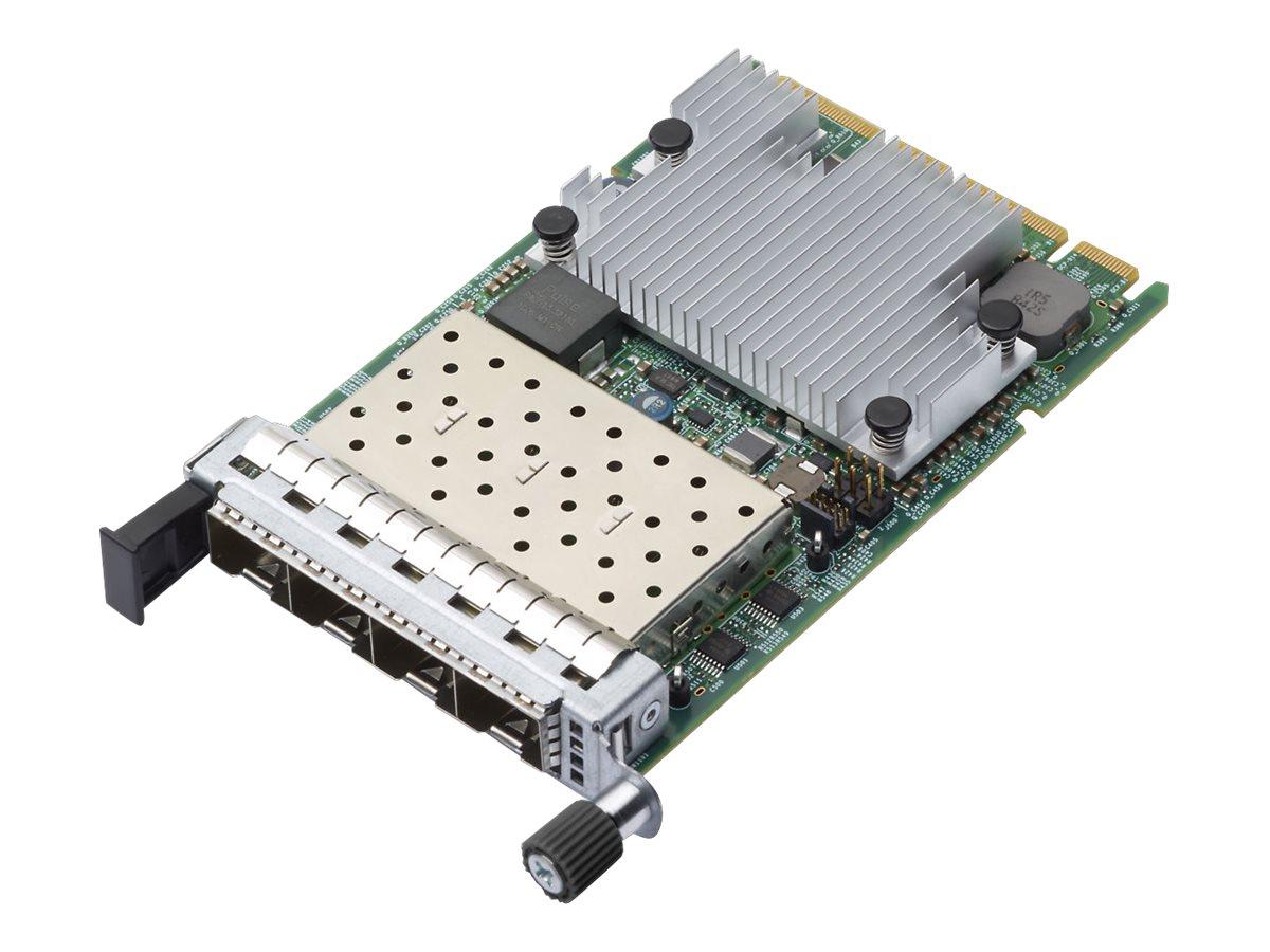 Lenovo ThinkSystem Broadcom 57454 - Netzwerkadapter - OCP 3.0 - 10/25 Gigabit SFP28 x 4 - für ThinkSystem SR635 7Y98, 7Y99; SR65