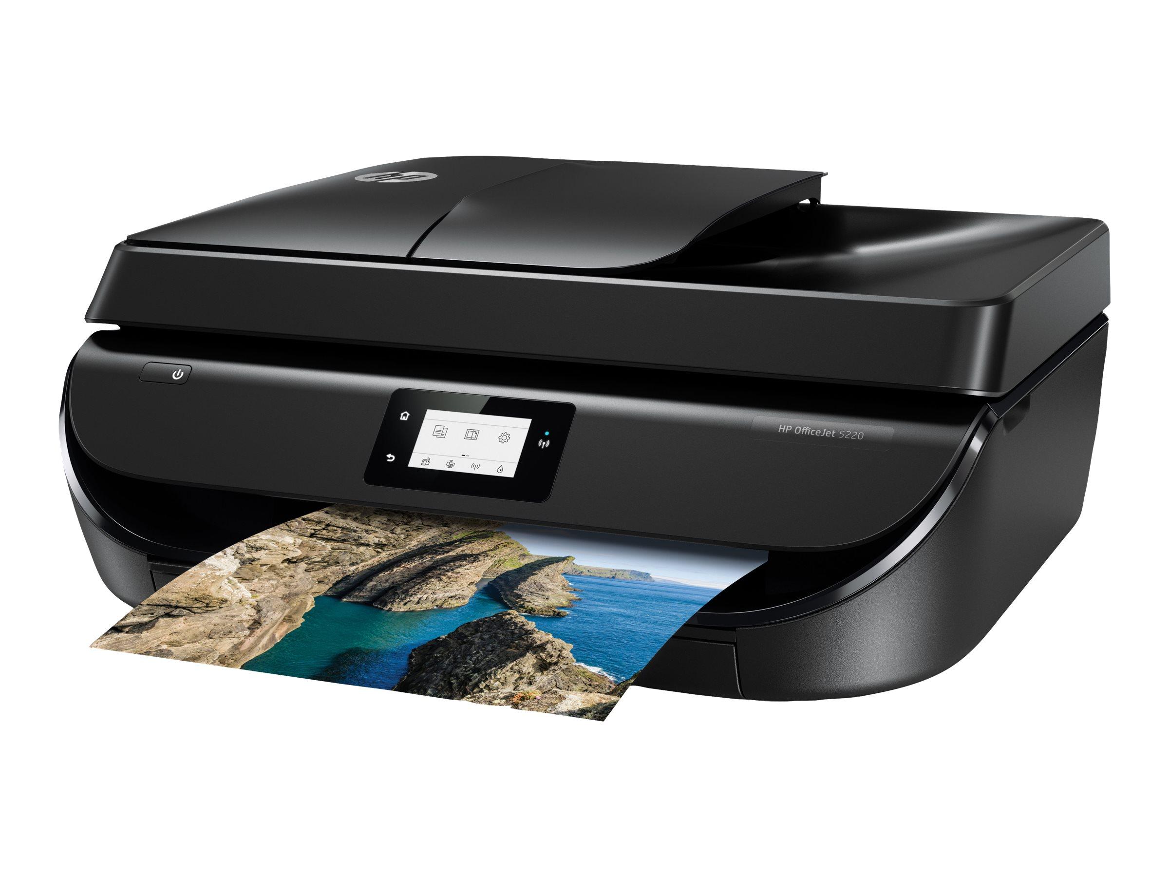 HP Officejet 5220 All-in-One - Multifunktionsdrucker - Farbe - Tintenstrahl - 216 x 297 mm (Original) - A4/Legal (Medien)