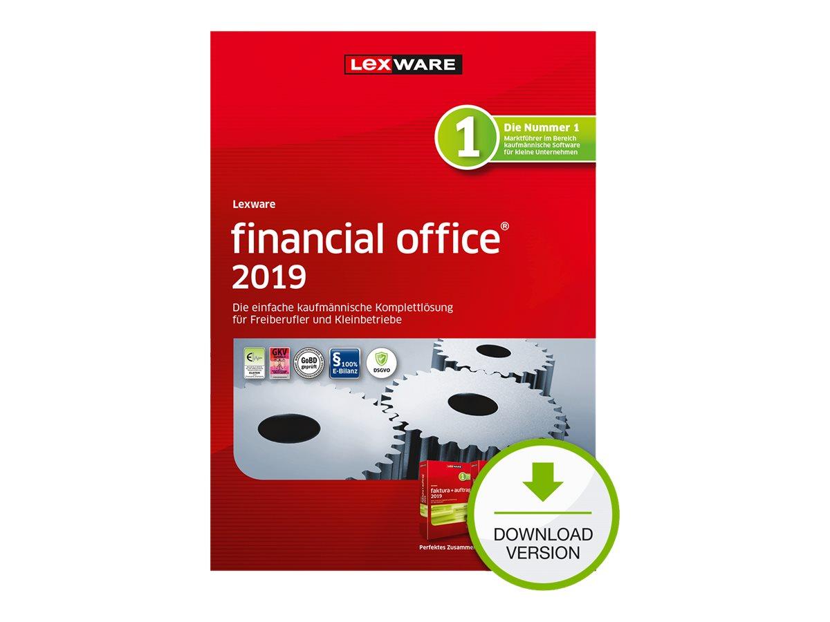 Lexware financial office 2019 - Abonnement-Lizenz (1 Jahr) - 1 Benutzer - Download - ESD - Deutsch