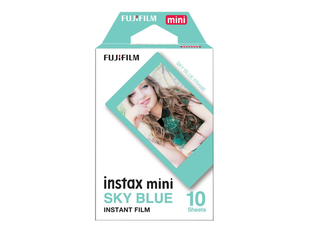 Fujifilm Instax Mini Sky Blue - Instant-Farbfilm - ISO 800 - 10 Belichtungen