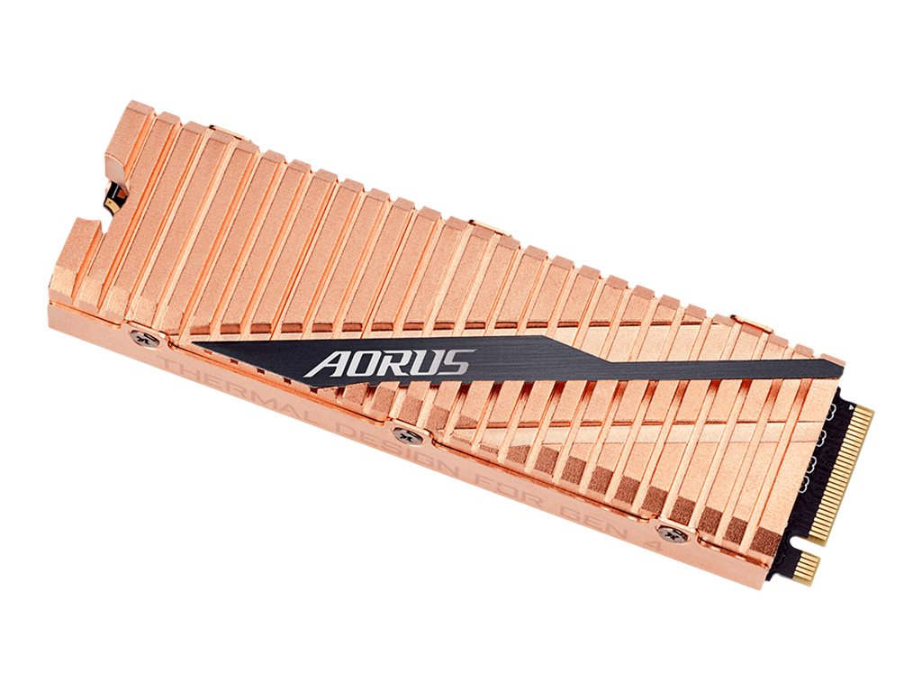 AORUS - Solid-State-Disk - 1000 GB - intern - M.2 2280 - PCI Express 4.0 x4 (NVMe)