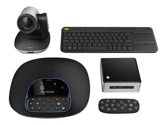 Logitech GROUP Kit - Kit für Videokonferenzen - mit Intel NUC Kit NUC5i5MYHE