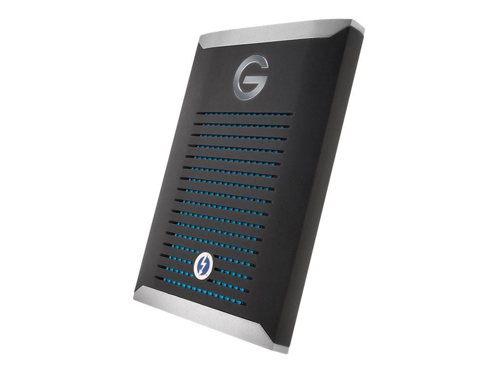 G-Technology G-DRIVE Mobile Pro GDMOPTB3WB10001DBB - Festplatte - 1 TB - extern (tragbar) - Thunderbolt 3 - Schwarz