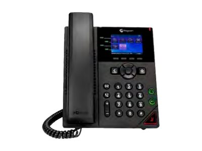 Polycom VVX 250 Business IP Phone - OBi Edition - VoIP-Telefon - SIP, RTCP, RTP, SRTP, SDP - 4 Leitungen
