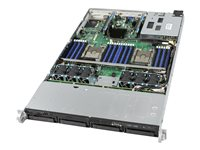 Intel Server System R1304WFTYSR - Server - Rack-Montage - 1U - zweiweg - RAM 0 GB
