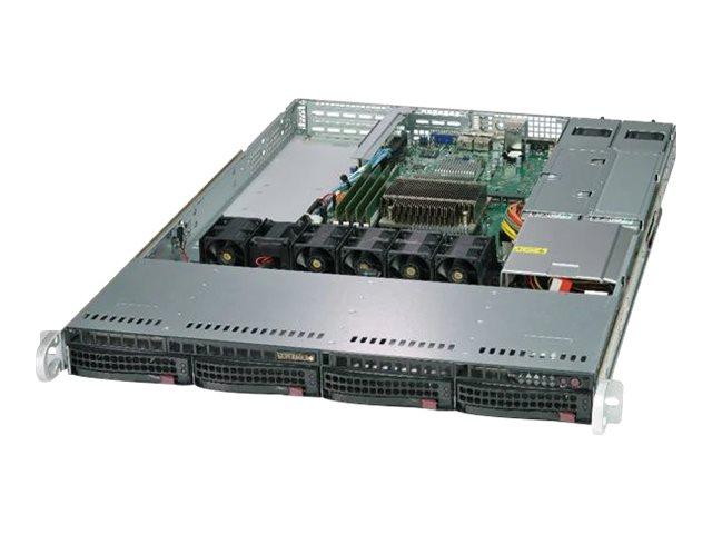 Supermicro SuperServer 5019C-WR - Server - Rack-Montage - 1U - 1-Weg - RAM 0 GB