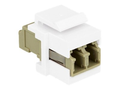 DeLOCK - Netzwerkkoppler - LC Multi-Mode (W) bis LC Multi-Mode (W) - Glasfaser