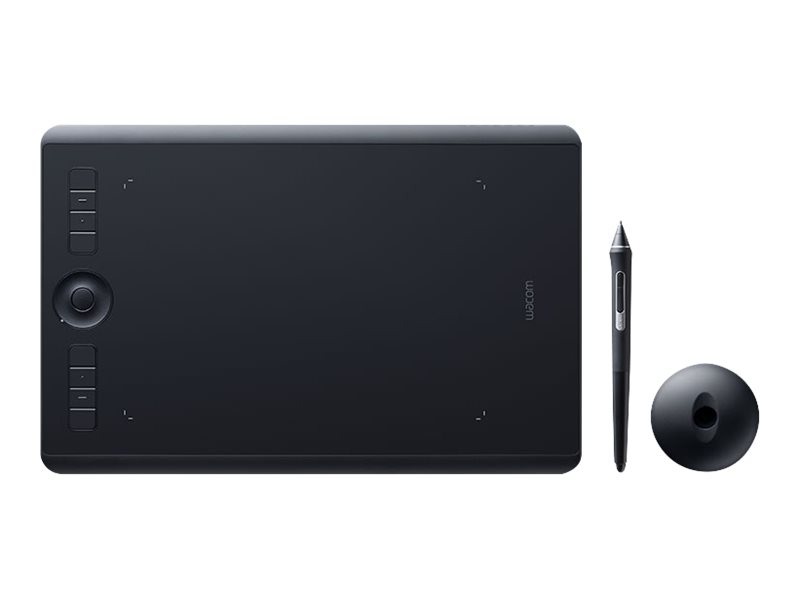 Wacom Intuos Pro Medium - Digitalisierer - rechts- und linkshändig - 22.4 x 14.8 cm - Multi-Touch - elektromagnetisch