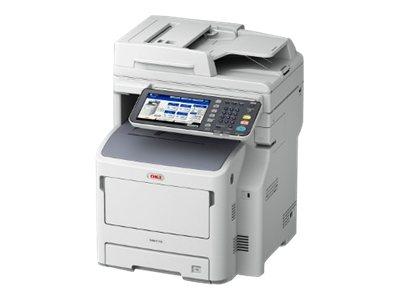 OKI MB770dn - Multifunktionsdrucker - s/w - LED - A4 (210 x 297 mm) (Original) - A4 (Medien)