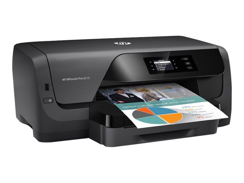 HP Officejet Pro 8210 - Drucker - Farbe - Duplex - Tintenstrahl - A4
